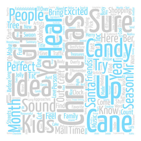 Christmas Gift Ideas The Treasures Under The Tree text background word cloud concept