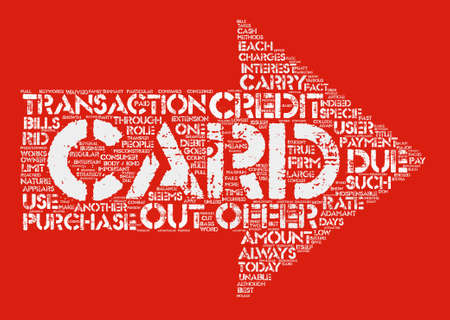 Credit Card Offers Get The Best Out Of It Word Cloud Concept Text Background
