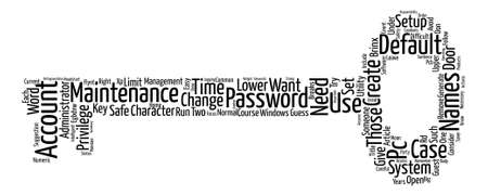 condoms: Condoms for Your PC Accounts and Passwords text background word cloud concept Illustration