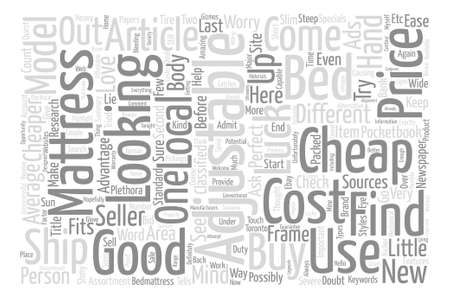 adjustable: Can You Buy Good Cheap Adjustable Beds Why Not text background word cloud concept Illustration