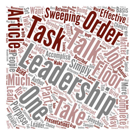 asserts: Can Leadership help Your Career text background word cloud concept