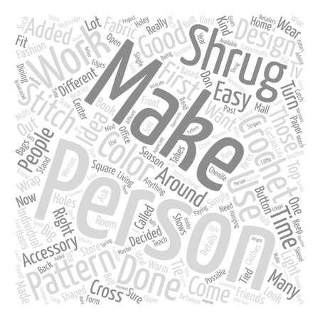 Anfänger Häkeln Muster Word Cloud Konzept Text Hintergrund ...