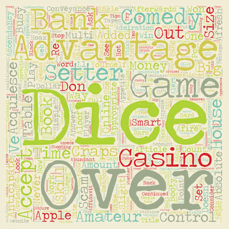 Learn to Comedy Craps Tips and Strategies text background wordcloud concept