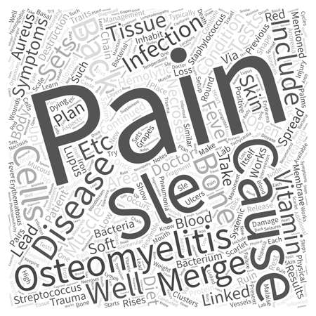 mentioned: SLE and Back Pain Word Cloud Concept Illustration