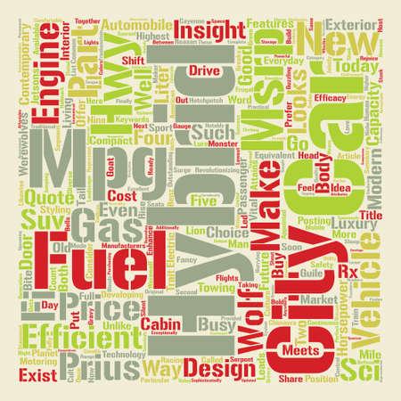 The Power of the Negative text background word cloud concept Ilustração