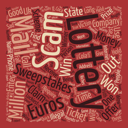 The Quick Easy Money Makers text background word cloud concept Illustration