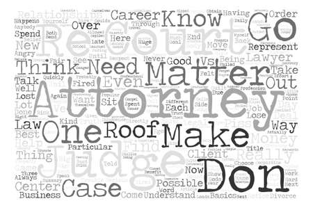 popular belief: The Truth About Lawyers text background word cloud concept