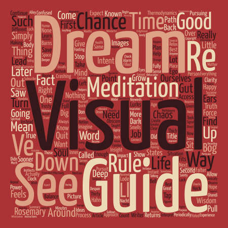 Thirty Minutes that Will Save Your Dream Word Cloud Concept Text Background Illustration