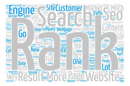 importantly: So What Is SEO text background word cloud concept Illustration