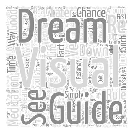 Thirty Minutes that Will Save Your Dream text background word cloud concept