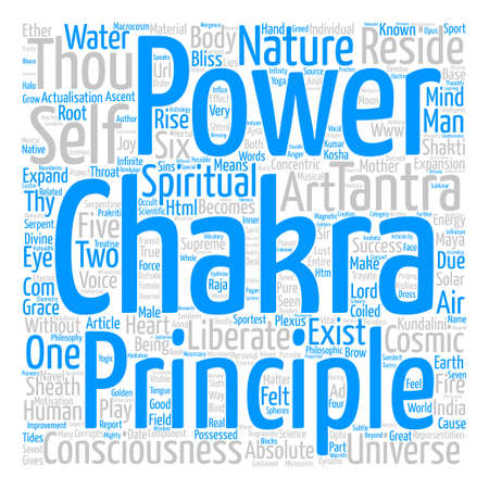Tantra text background word cloud concept
