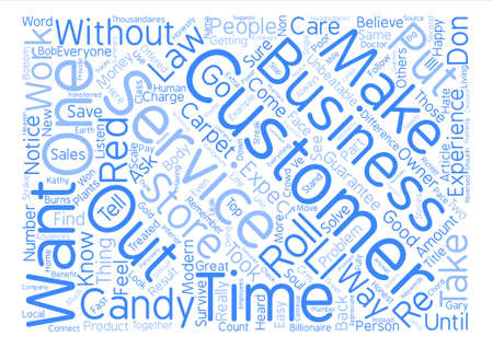 unbeatable: The Unbeatable Laws Of Customer Service text background word cloud concept