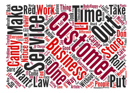 unbeatable: The Unbeatable Laws Of Customer Service Word Cloud Concept Text Background Illustration