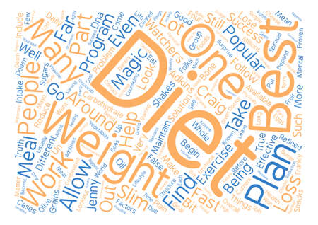 A Works Like Magic Best Diet True Or False text background word cloud concept