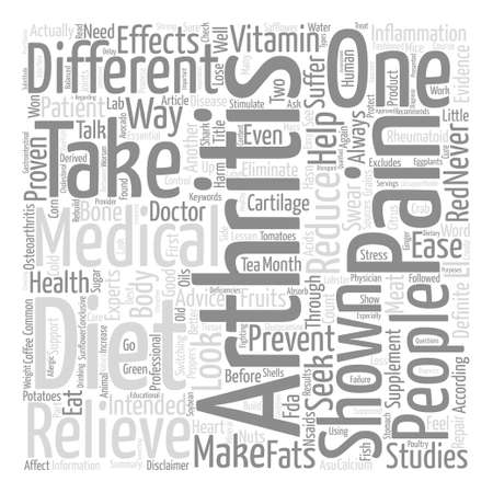 Arthritis Diet Relieve Your Pain text background word cloud concept