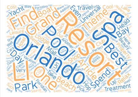 http: Advice for the Theme Park Weary text background word cloud concept Illustration