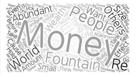 rana: A Few Simple Things You Must Do If You Want To Be Wealthy text background word cloud concept Illustration