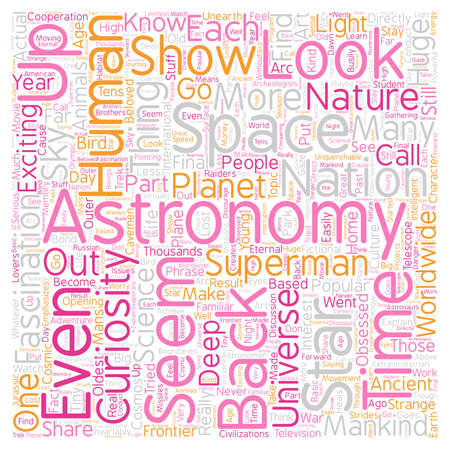 LookuUp in the Sky text background wordcloud concept Illustration