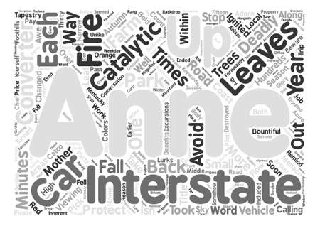 beware: Beware of the Leaves text background word cloud concept