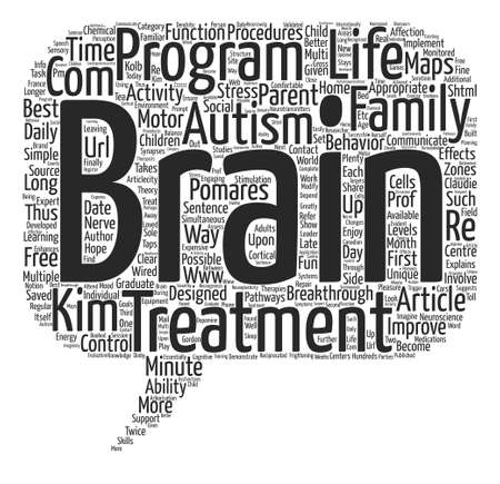 Autism Does Not Have To Be A Life Sentence text background word cloud concept
