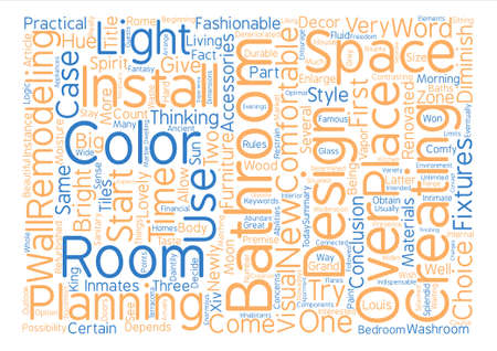 Bathroom From Over The Moon Part One Word Cloud Concept Text Background Illustration