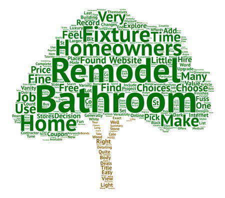 make summary: Bathroom Fixtures Word Cloud Concept Text Background
