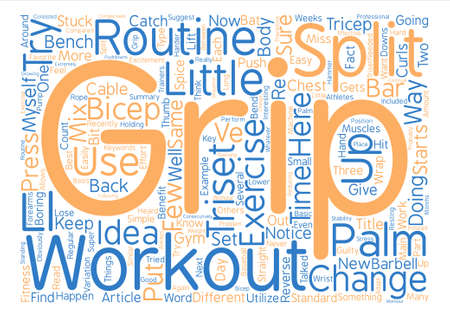A Few Simple Ideas to Mix Up Your Routine text background word cloud concept Reklamní fotografie - 74202219