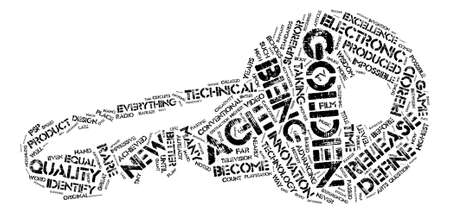 echoes: Are We In A Golden Age Of Electronics text background word cloud concept