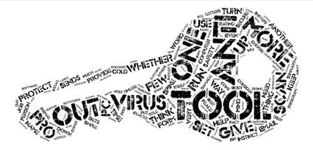 Antivirus Tools text background word cloud concept