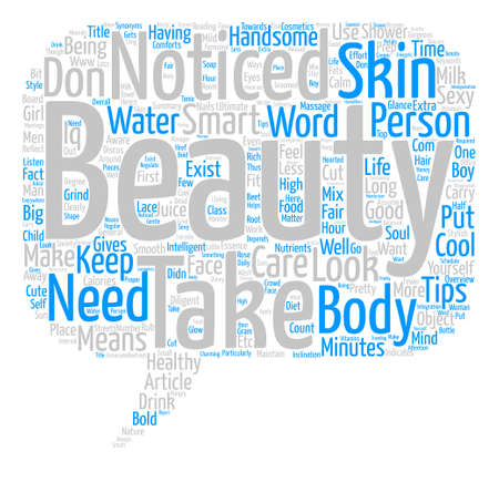 be aware: Beauty Tips text background word cloud concept