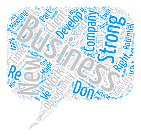 Acquire New Business text background word cloud concept Illustration