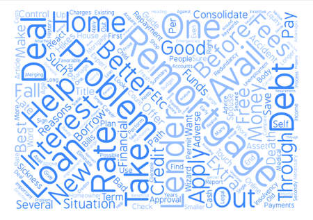 fall about: About Problem Remortgage Word Cloud Concept Text Background