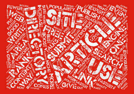 Article Directories Play An Important Role In Seo Strategy text background word cloud concept