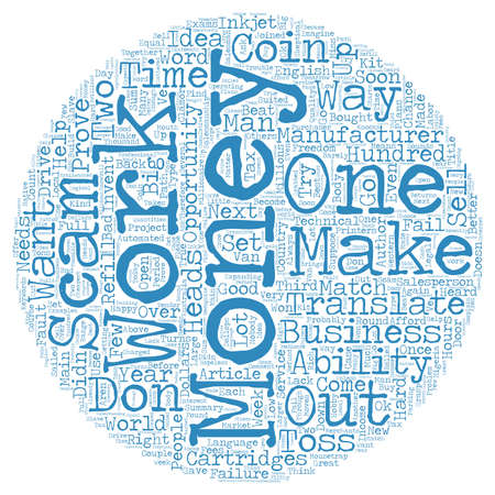 coin toss: Make Money Scams Don t Work No You Don t text background wordcloud concept
