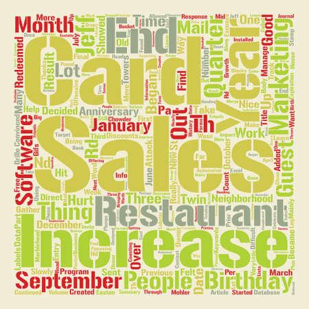 A Increase in Sales After text background word cloud concept Illusztráció