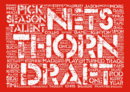 A Thorn on Their Side text background word cloud concept Illustration