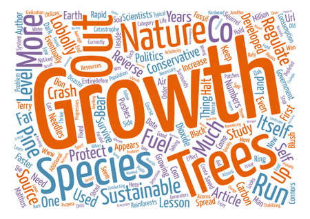 a lesson in sustainability text background word cloud concept