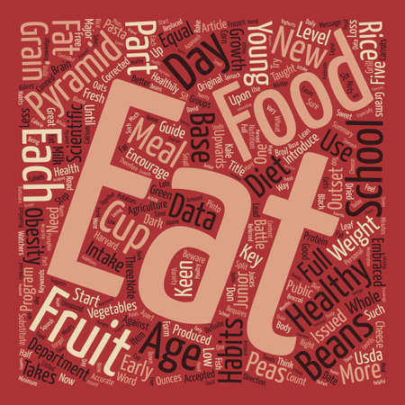 beware: Beware The Food Pyramid text background word cloud concept