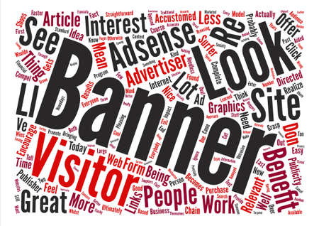 Adsense and the Surfer text background word cloud concept