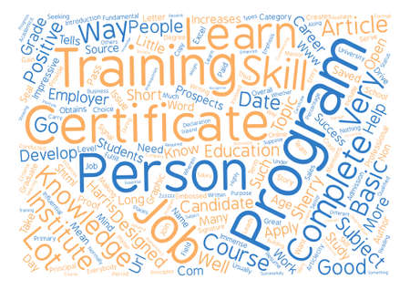 http: A Little Certificate Can Go A Long Way text background word cloud concept Illustration