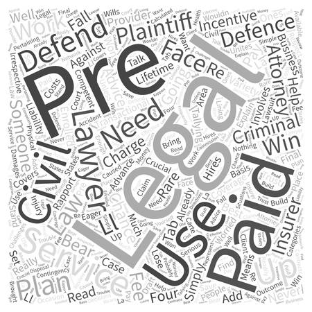 Pre paid legal Are you really going to use it Word Cloud Concept Stok Fotoğraf - 74363540