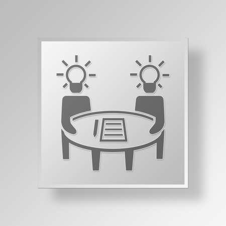 conceptions: brainstorming Button Icon Concept No.13553