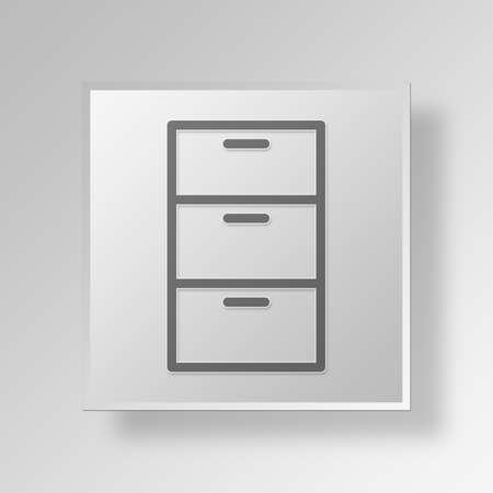 surge: Cabinet Button Icon Concept No.11129