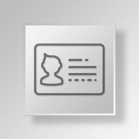 svg: Card Button Icon Concept No.1464