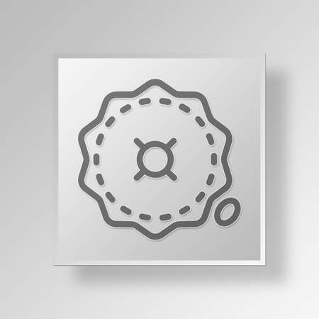 unspecified: Seal Button Icon Concept No.14425