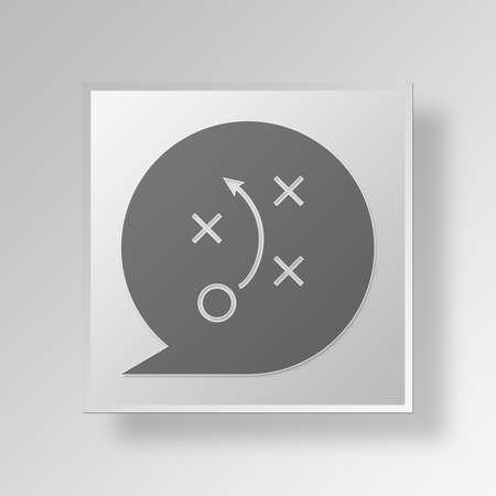 strategy Button Icon Concept No.13885