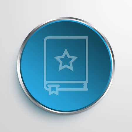bookmarking: Blue Sign bookmark Symbol icon Business Concept No.11157