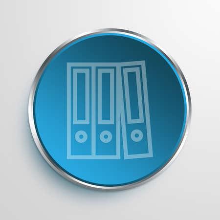 deeds: Blue Sign documentation Symbol icon Business Concept No.9797