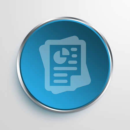 documenting: Blue Sign documents Symbol icon Business Concept No.3613