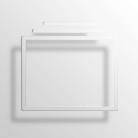 frenetic: Multitasking 3D Paper Icon Symbol Business Concept No.10822 Stock Photo